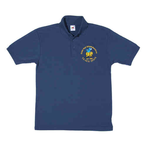 "Polo Shirt ""Whiskydestillerie Blaue Maus"""